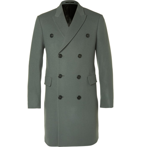 Paul Smith LondonDouble-Breasted Wool and Cashmere-Blend Coat