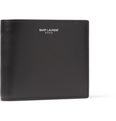 Saint Laurent Textured-Leather Billfold Wallet