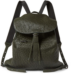 Bottega Veneta Ostrich Backpack