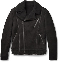 Bottega Veneta Shearling Biker Jacket