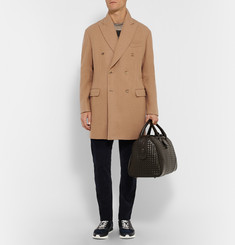 Bottega Veneta Camel and Wool-Blend Coat