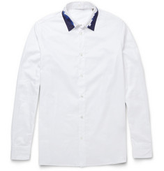 Bottega Veneta Slim-Fit Painted Cotton Shirt