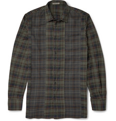 Bottega Veneta Plaid Cotton Shirt