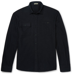 Bottega Veneta Wool-Blend Flannel Shirt