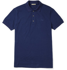 Bottega Veneta Slim-Fit Cotton-Piqué Polo Shirt