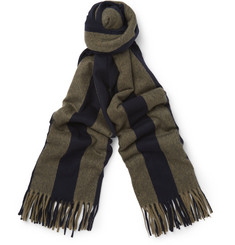Acne Studios Setter Striped Virgin Wool Scarf