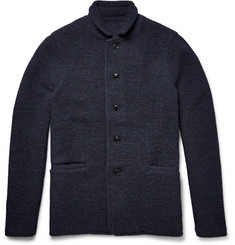 Tomorrowland Textured-Wool Cardigan