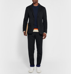 Tomorrowland Slim-Fit Double-Faced Wool Trousers