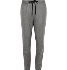 Tomorrowland Slim-Fit Wool and Linen-Blend Trousers