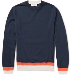 Tomorrowland Colour-Block Cotton Sweater