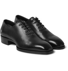 Tom Ford - Whole-Cut Leather Oxford Shoes