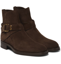 Tom Ford - Buckled Suede Boots