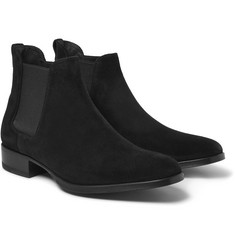 Tom Ford Cuban-Heel Suede Chelsea Boots