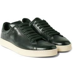 Tom Ford Leather Tennis Sneakers