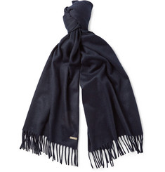 Loro Piana Brushed-Cashmere Scarf