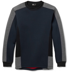 Kolor Colour-Block Bonded-Jersey Sweatshirt