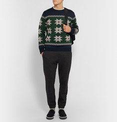 Kolor Knitted Wool Sweater
