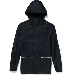 OAMC Grosgrain-Trimmed Shell Hooded Jacket
