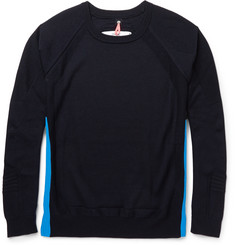 OAMC Contrast-Panel Wool Sweater