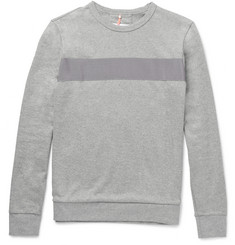 OAMC Grosgrain-Trimmed Cotton-Jersey Sweatshirt