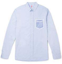 OAMC Tape-Detailed Cotton-Poplin Shirt
