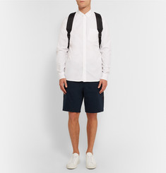 OAMC Shell Panelled Cotton-Jersey Shorts