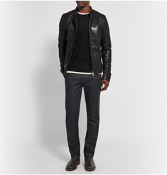 Belstaff Gransden Polished-Leather Jacket