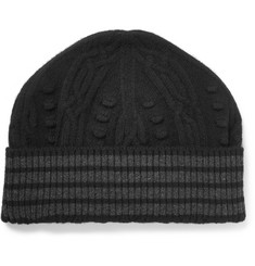 Thom Browne Cable-Knit Cashmere Beanie