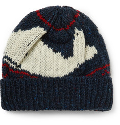 Thom Browne - Intarsia-Knit Wool and Mohair-Blend Beanie