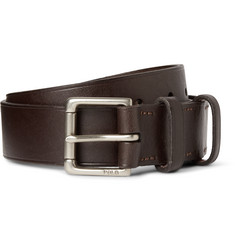 Polo Ralph Lauren 3cm David Brown Leather Belt