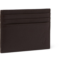 Polo Ralph Lauren Textured-Leather Cardholder