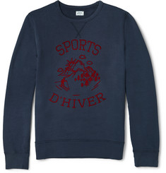 Hartford Printed Cotton Sweatshirt