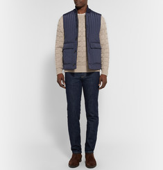 Brioni Slim-Fit Cable-Knit Cashmere Sweater