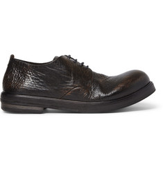 Marsell Burnished Full Grain Leather Derby Shoes