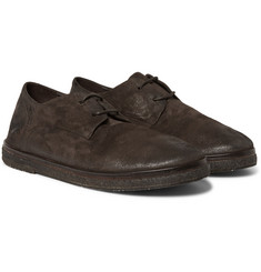 Marsell - Brushed-Suede Derby Shoes