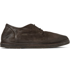 Marsell Brushed-Suede Derby Shoes