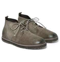 Marsell Brushed-Nubuck Desert Boots