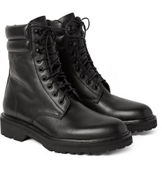 Saint Laurent - Leather Combat Boots