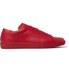 Saint Laurent SL01 Court Classic Leather Sneakers