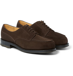 J.M. Weston Goodyear®-Welted Suede Derby Shoes