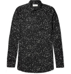 Saint Laurent Printed Twill Shirt
