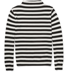 Saint Laurent Striped Merino Wool Sweater