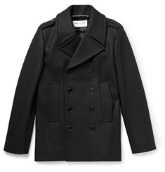 Saint Laurent - Double-Breasted Wool Peacoat