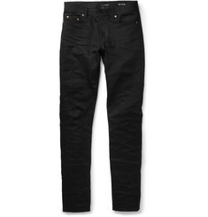 Saint Laurent Skinny-Fit 15cm Hem Denim Jeans