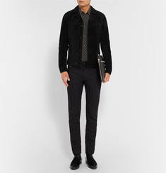 Saint Laurent Hedi Suede Jacket