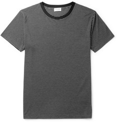 Saint Laurent Striped Modal-Blend T-Shirt