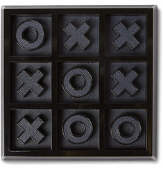 Valextra Noughts and Crosses Leather-Bound Set