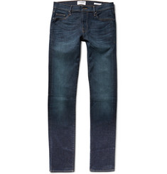 Frame Denim L'Homme Skinny Washed Stretch-Denim Jeans