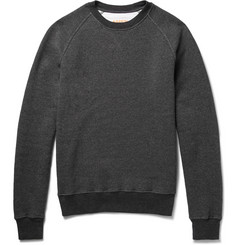 Aspesi Fleece-Back Cotton-Jersey Sweatshirt