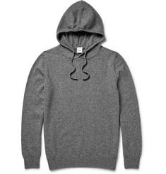 Aspesi Wool, Yak and Cashmere-Blend Hoodie